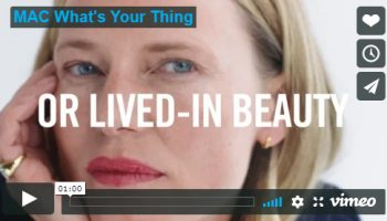 Kampagne #WhatsYourThing für M·A·C